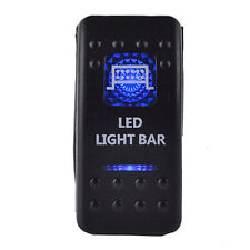 12V 20A Bar Carling Bar Rocker Switch Blue LED Lighted Car Boat Truck Sales