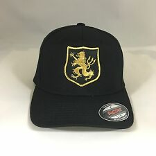 Navy Seal Team 6 Devgru Gold Team Flexfit Hat Yupoong Wool Blend 6477 Cap Black