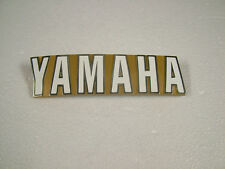YAMAHA TX750, TX650A '73, '74 REPRODUCTION TANK BADGES, LEFT OR RIGHT SIDE.