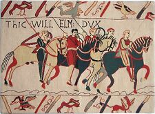 "NEW 26"" X 19"" WALL HANGING REPRODUCTION OF PART OF THE BAYEUX TAPESTRY"