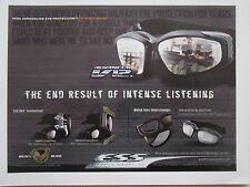 10/2006 PUB ESS EYE SAFETY SYSTEMS ADVANCER V12 AVS SYSTEM ORIGINAL AD