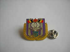 a3 ANDERLECHT FC club spilla football calcio foot pins broches belgio belgium