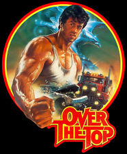 80's Stallone Classic Over the Top Poster Art custom tee Any Size Any Color