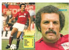 La Scheda Segreta di... JUNIOR Intrepido Sport 1985 Torino autografata