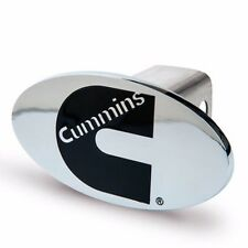 Cummins hitch hider emblem dodge decal chrome diesel oval badge plug truck