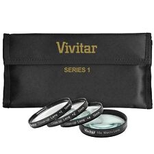 Vivitar 4Pc Close Up Macro Lens Set For Fujifilm Finepix HS20EXR HS22EXR