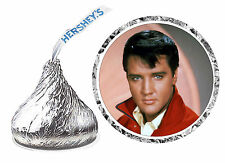 216 ELVIS PRESLEY BIRTHDAY PARTY FAVORS HERSHEY KISSES LABELS unpersonalized