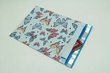 200 Bags 100 10x13 Butterfly, 100 10x13 Blue Hearts Designer Poly Mailer