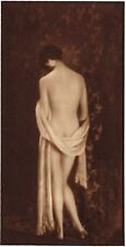 1920's Vintage Irish Female Nude Model Hoppe Art Deco Photo Gravure Print