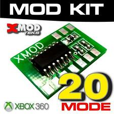 XMOD Rapid Fire MOD KIT XBOX 360 Controller, one BO3 INF WARFARE JITTER 20 MODES