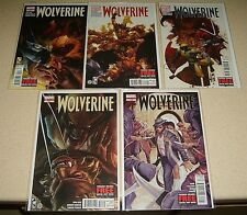 Wolverine #310 311 312 313 314 NM Run Lot Loeb Bianchi Sabretooth Marvel Comics