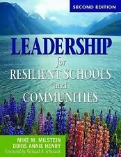 Leadership for Resilient Schools and Communities, , Henry, Doris Annie, Milstein