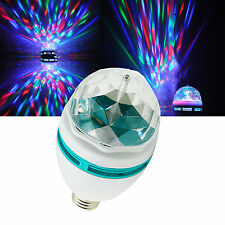 LED 360°Rotating Stage Crystal Ball Light Lamp f DJ/Disco//Party/Bar 3w  GE