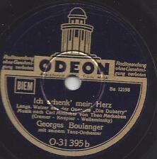 Georges Boulanger Tanzorchester spielt Theo Mackeben : Ich schenk mein Herz