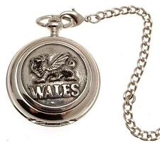 Pocket watch Wales Dragon quartz mechanism
