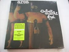AREA - ARBEIT MACHT FREI - LP+CD BOXSET NEW SEALED NUMERATO 2013 - COPY # 2328