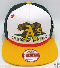 Oakland A's California Republic Snapback Cap Hat MLB Athletics NEW ERA 9FIFTY