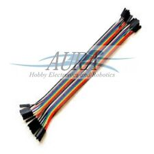 20 Pcs Dupont Female Female Jumper Ribbon Cable 20cm Breadboard Arduino UK C512