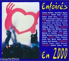 CD audio../...LES ENFOIRES EN 2000..../...LES RESTAURANTS DU COEUR.....