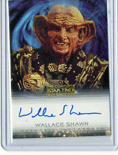 """Wallace Shawn """"The Nagus"""" Star Trek DS9 Auto Signed Card Nm-Mt Condition"""