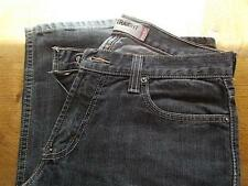 Genuine LEVI SLIM STRAIGHT Black Denim Jeans Boot leg LEVIS Fits 30 waist 32 leg