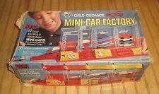 Vintage Motorized Mini Car Factory Child Guidance Toy