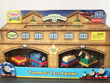 THOMAS & FRIENDS TAKE N PLAY SODOR STEAMWORKS THOMAS' TALL FRIEND 4 VEHICLES