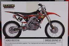 HONDA CRF450R 09-12 CRF250R 10-13 CRF 250 450 CR F Factory Effex Rockstar