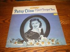 PATSY CLINE I CAN'T FORGET YOU LP ALBUM