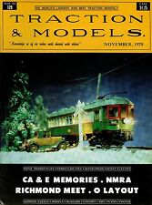 Traction & Models Magazine : November 1975 : CA & E Memories - NMRA