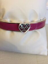Vera Bradley Heart Bangle Bracelet, Jewelry Bracelet, Canterberry Magenta $38