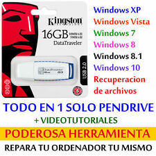 Pendrive multiboot 16 GB - PC REPAIR POWERFUL TOOLS for WINDOWS PC and LAPTOPS