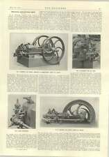 1914 Crude Oil Engines Tipping Trailer Wyles Motor Plough Ruston Proctor