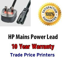 UK Power Cord Lead Cable For HP Photosmart 5510 5520 6520 e-ALL-IN-ONE Printers