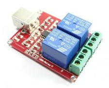Free drive /  2- channel  5V usb Relay Module / Computer control switch