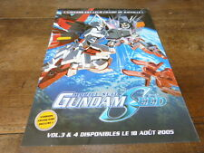 MANGA - Plan média / Press kit !!! MOBILE SUIT GUNDAM SEED VOL 3 & 4 !!!
