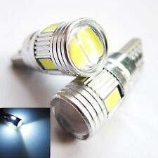 UK x2 T10 CANBUS W5W 501 6SMD BRIGHT CAR LED Light BULBs 12v White ERROR FREE UK