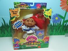 "2001 SAILOR BIG JACK AHOY - 5"" Dam Totally Troll Doll - NEW IN PACKAGE"