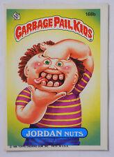 VINTAGE! 1986 Topps Garbage Pail Kids Trading Card #168b-Jordan Nuts