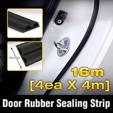 Car Door Auto Noise Rubber Seal Strip 4ea B type For HYUNDAI 2011-2017 Accent