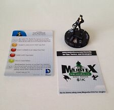 Heroclix Batman set Catwoman #007a Common figure w/card!