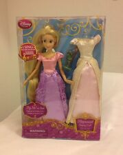 """DISNEY 12"""" PRINCESS RAPUNZEL from TANGLED SINGING DOLL - NEW IN BOX"""
