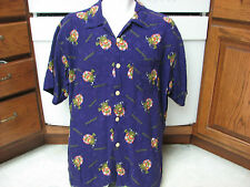 Monster dot com career website RARE Hawaiian shirt XL 2004 Achievers trip