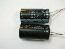 5pcs 25V 4700UF Radial Electrolytic Capacitors 12mm x 30mm Dimension