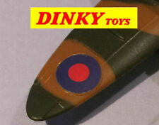 Dinky spitfire No.719 original style paper wing roundels stickers