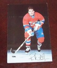 Montreal Canadians post card 1980's Ric Nattress # 29