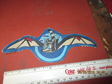 WWII  USN VT-50 WINGED BAT TORPEDO SQDN  FLIGHT JACKET   PATCH