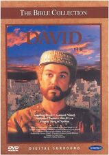 THE BIBLE COLLECTION # DAVID (1997) DVD (Sealed)~ Nathanial Parker *BRAND NEW*