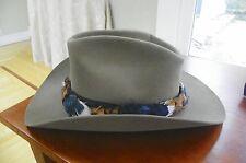 Stetson Cowboy Hat  Beaver Fur Fawn Wingate -7 1/8