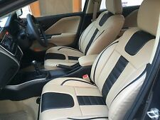 For Skoda Fabia  - Car Seat Covers - Leatherite - Bucket Fit - DTDC Shipping.